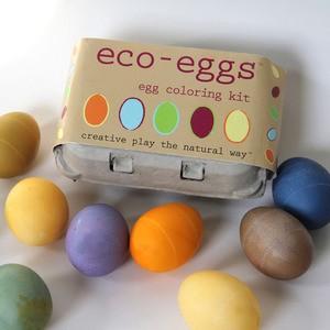 Eco Kids Eco Egg Natural Egg Coloring Kit