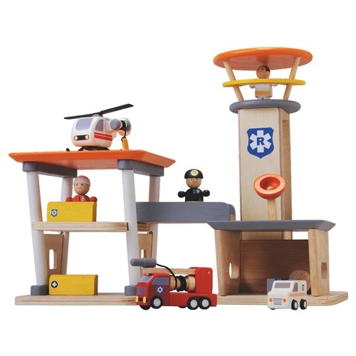 Plan Toys Rescue Set