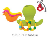 Toys For Tub Time Fun