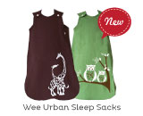 Made in Canada Wee Urban Sleep Sacks