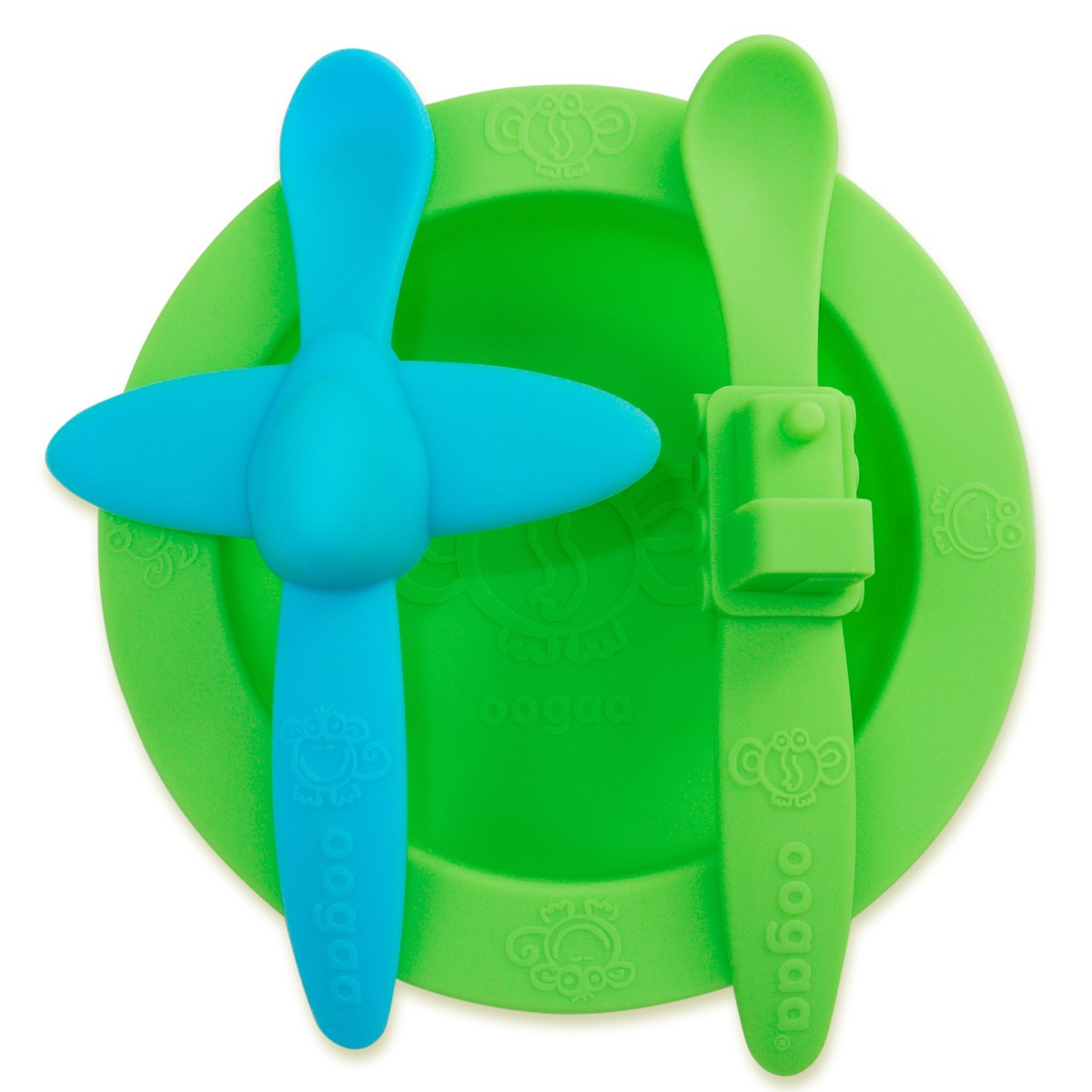 oogaa silicone feeding set