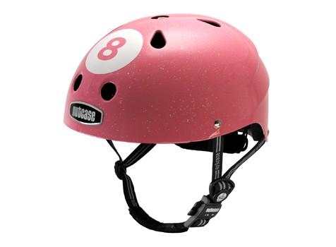 Nutcase Pink 8 Ball Helmut