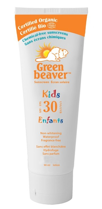 Green Beaver Organic Sunscreen